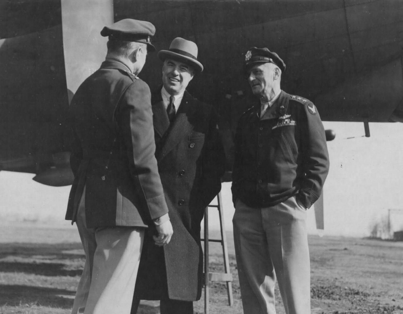 Edward R. Stettinius, Doolittle, Spaatz